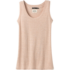 Prana Cozy Up Tanktop Dames, champagne heather